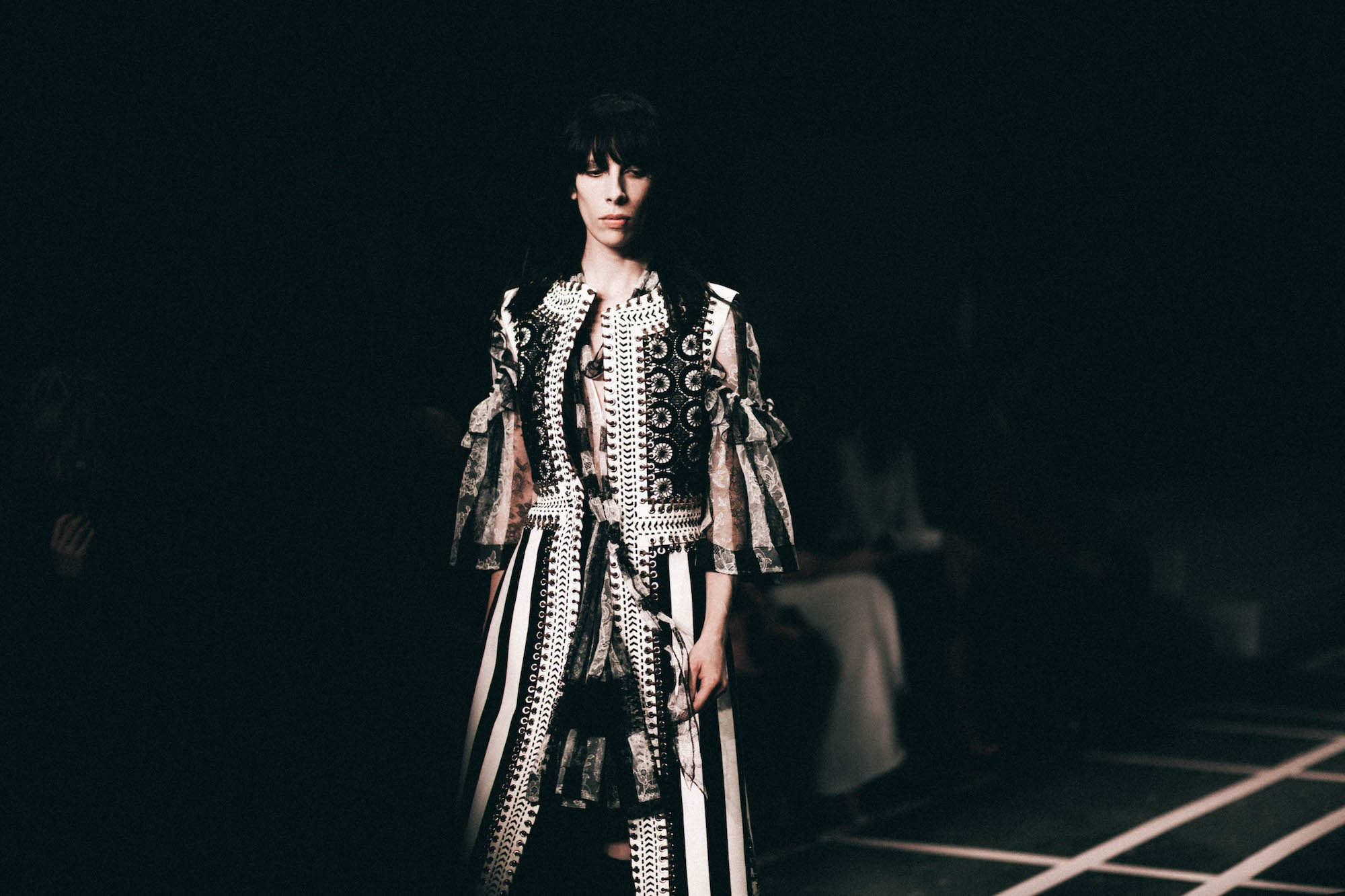 Jamie Bochert in Givenchy