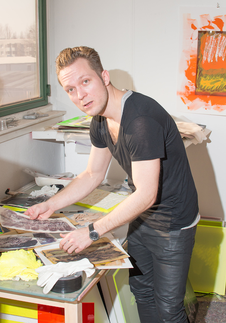 Ville Kylätasku's Studio. Photo by Alexander Coggin.
