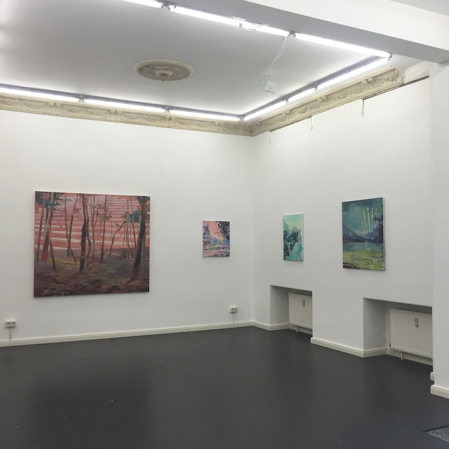 Michelle Jezierski, Exhibition view, 2015