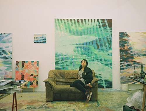 Sleek Art: A Studio Visit with Michelle Jezierski
